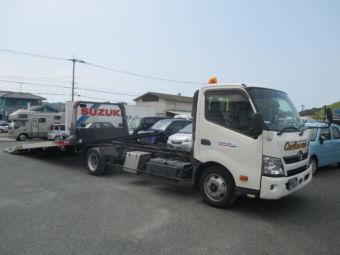 県外搬送可能な積載車です。通称:ネオ5